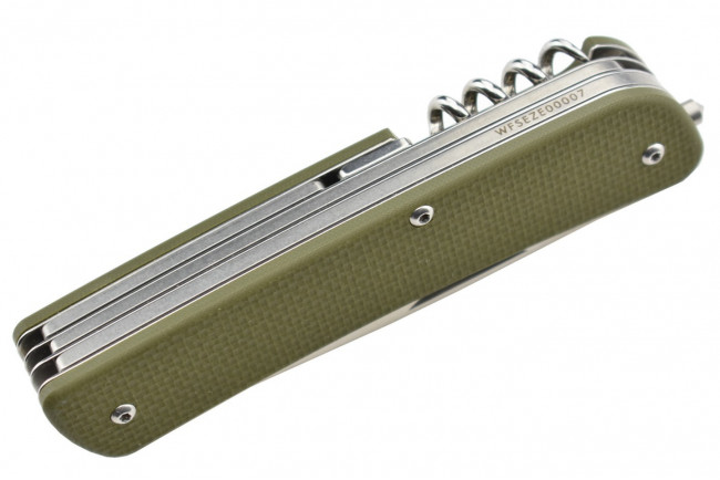 Ruike L31G Vert - Couteau multifonctions collection Criterion