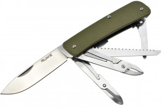 Ruike L51G Vert - Couteau multifonctions collection Criterion