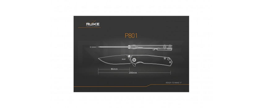 Ruike P801SF - Couteau 200mm